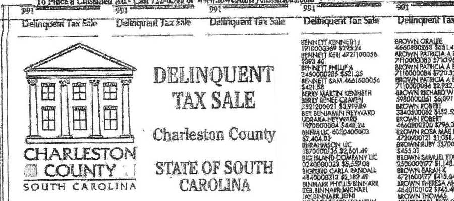 get your property off the delinquent tax sale list